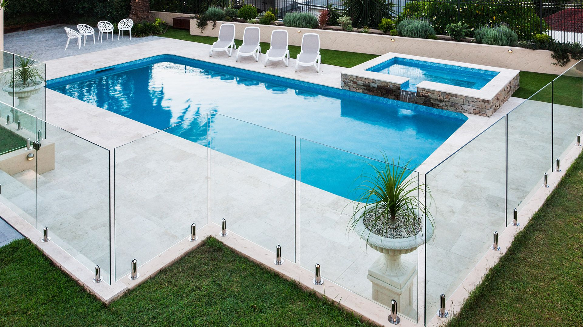 Types Of Pool Fencing As Well As Fencing Rules And Regulations In Melbourne Pool Patio Designs Cheap Inground Pool Fence Around Pool