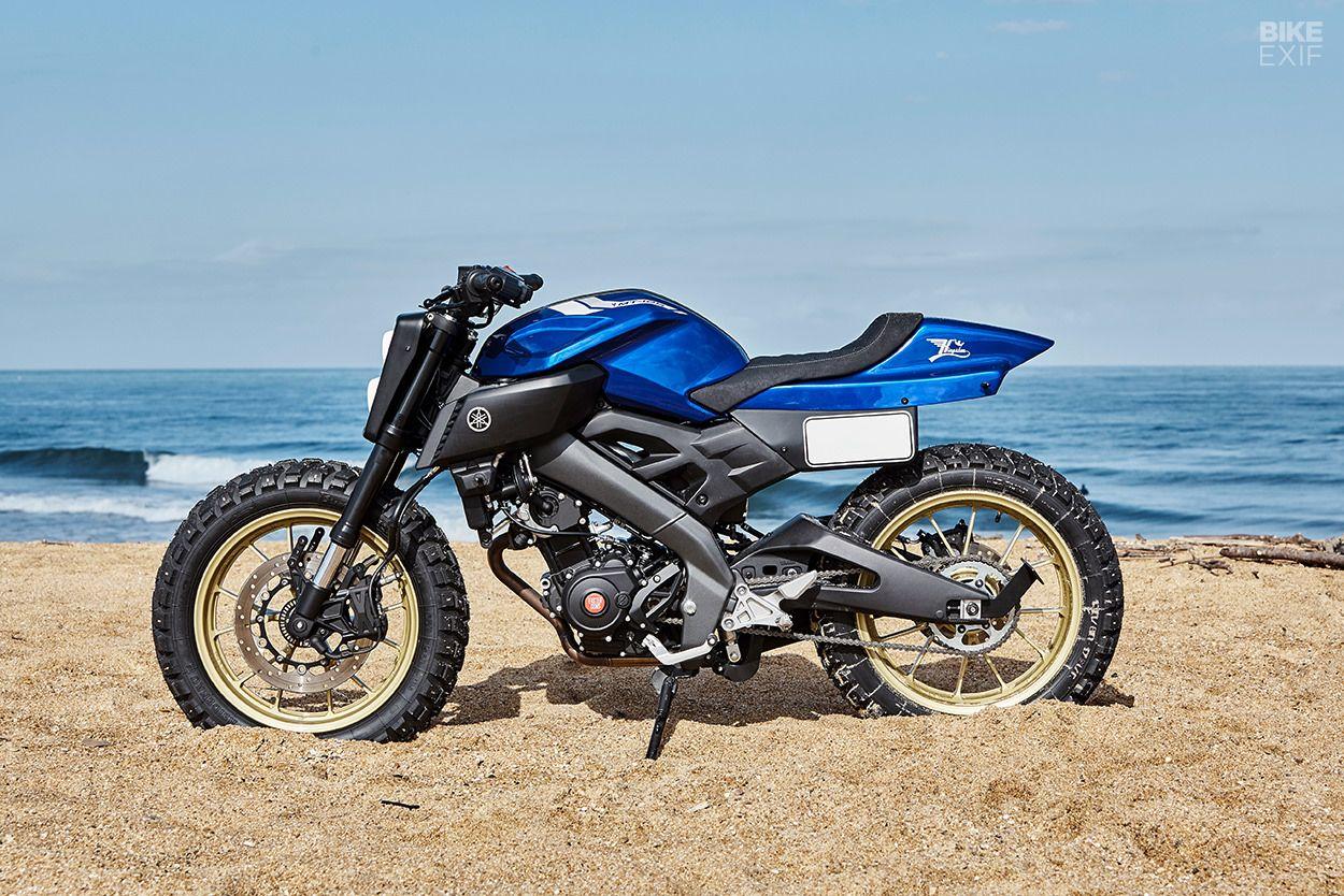 Perfectly Formed Kingston S Yamaha Mt 125 Tracker