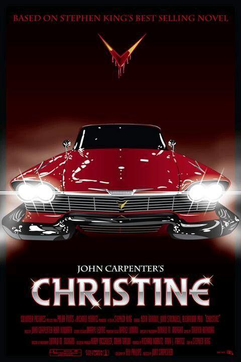 Best Film Posters : John Carpenter's Christine (1983) Movie Poster… - #Carpenters #Christine #film #John #Movie #poster #Posters #filmposterdesign