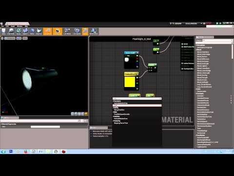 UE4] - Blinking Material Tutorial | unreal engine tips and tricks