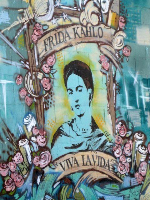 Los Angeles Street Art Frida Kahlo Street Art Art Street Art