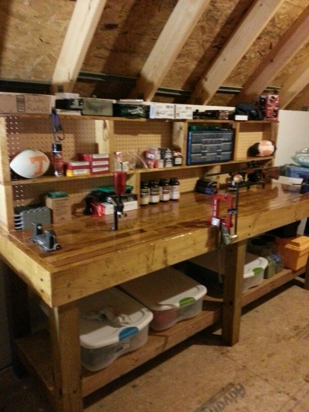 Nice Work Bench Garage Would Be Amazing Space For All