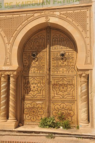 Porte Traditionnelle A Kairouan In 2020 Architectuur Fotografie Poort