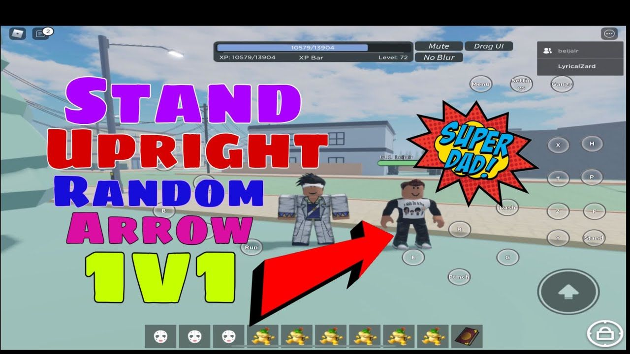 Random Arrow 1v1s In Stand Upright Roblox Roblox Jojo S Bizarre Adventure Arrow Also stand arrow is used in crafting of the tier 1 stands and the requiem arrow. stand upright roblox roblox