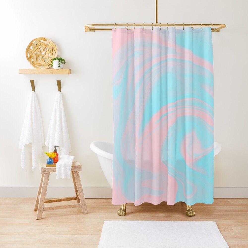 Bubble Pop Aesthetic Holographic Minimalist Pastel Pink Blue