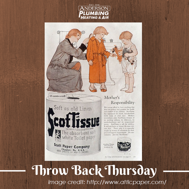 This Vintage Ad Is Brought To Us By The Scott Paper Company Circa