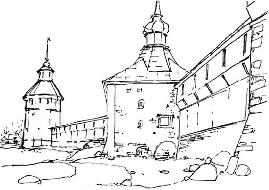 Тульский кремль картинки для разукрашивания