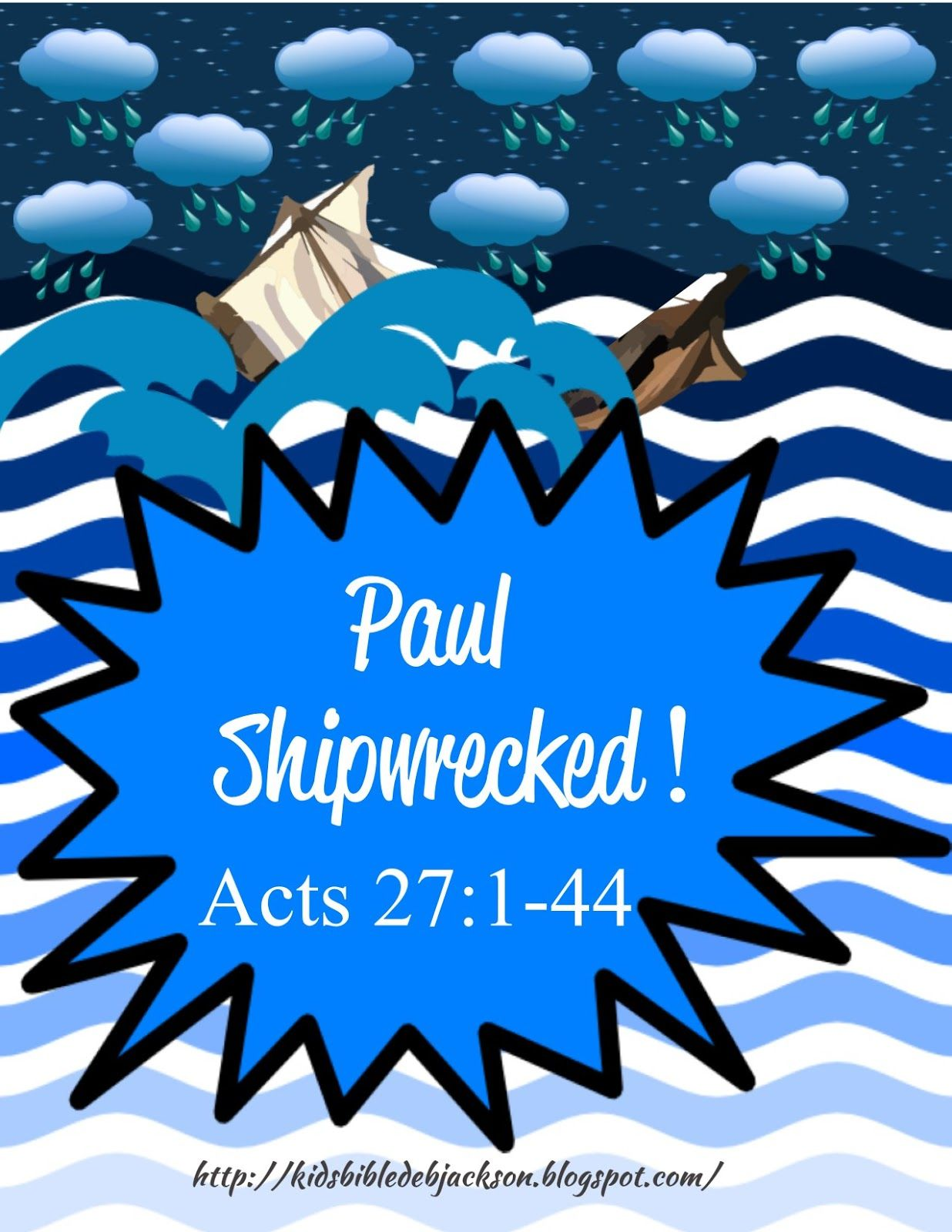 Paul Is Shipwrecked On The Way To Rome