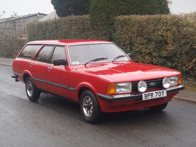 1983 Ford Cortina 2 0 Gl Estate Classic Cars Classic Cars