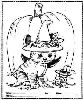 Coloring Page | arts and crafts | Pinterest | Halloween, Moldes and ...