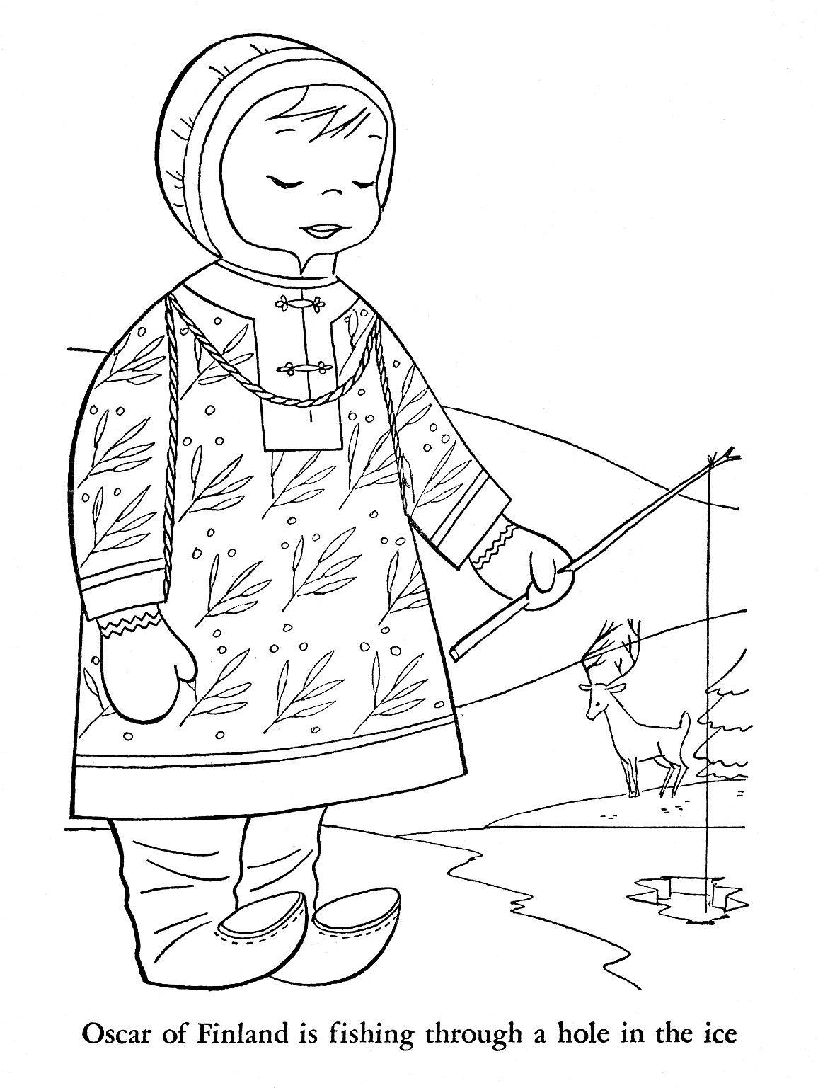Icolor Little Kids Around The World Finland