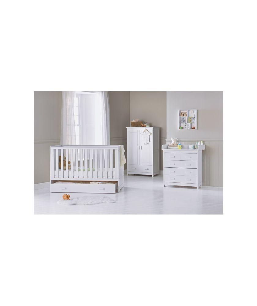 Babystart Delfina 5 Piece Nursery Set White At Argos Co Uk Your Online For Furniture Sets