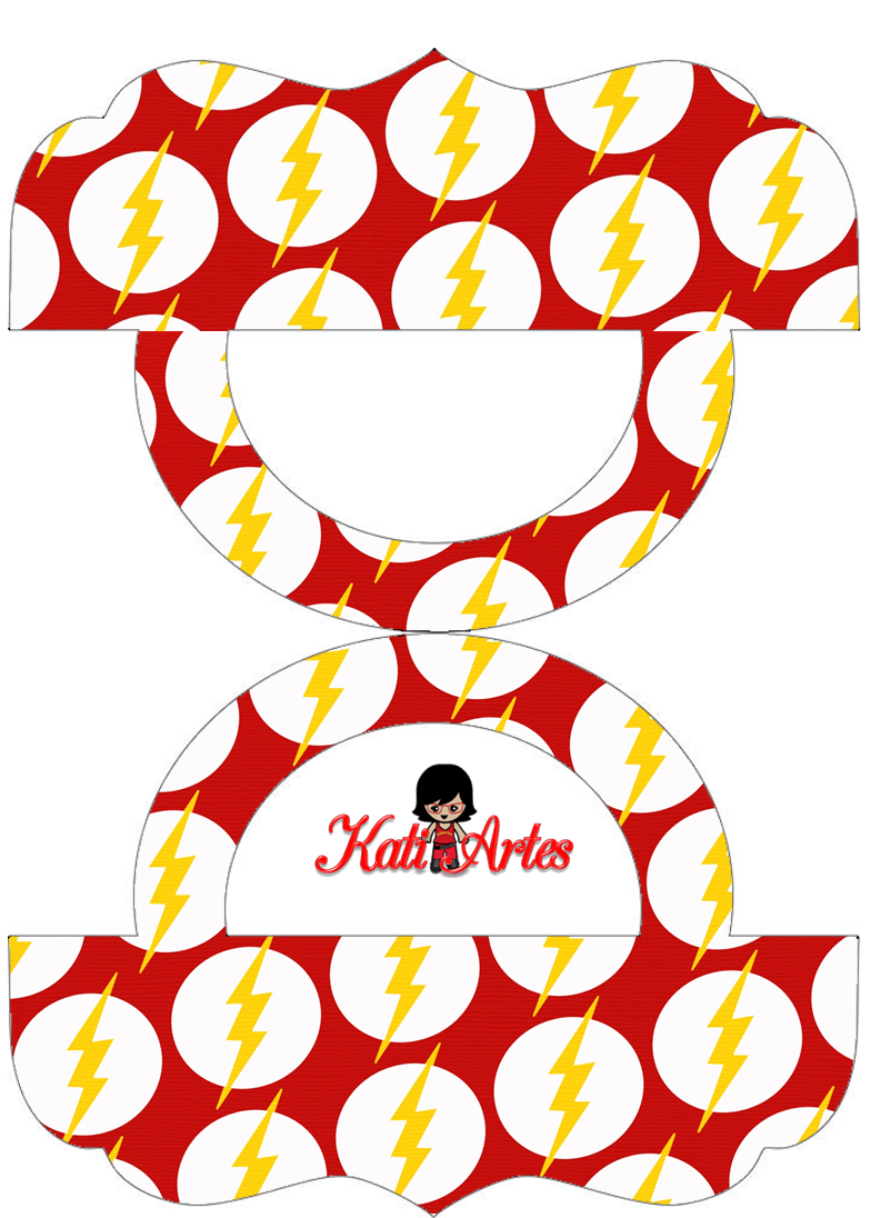 Super heroes pretty candy bag free printable labels - Bolsas para flash ...