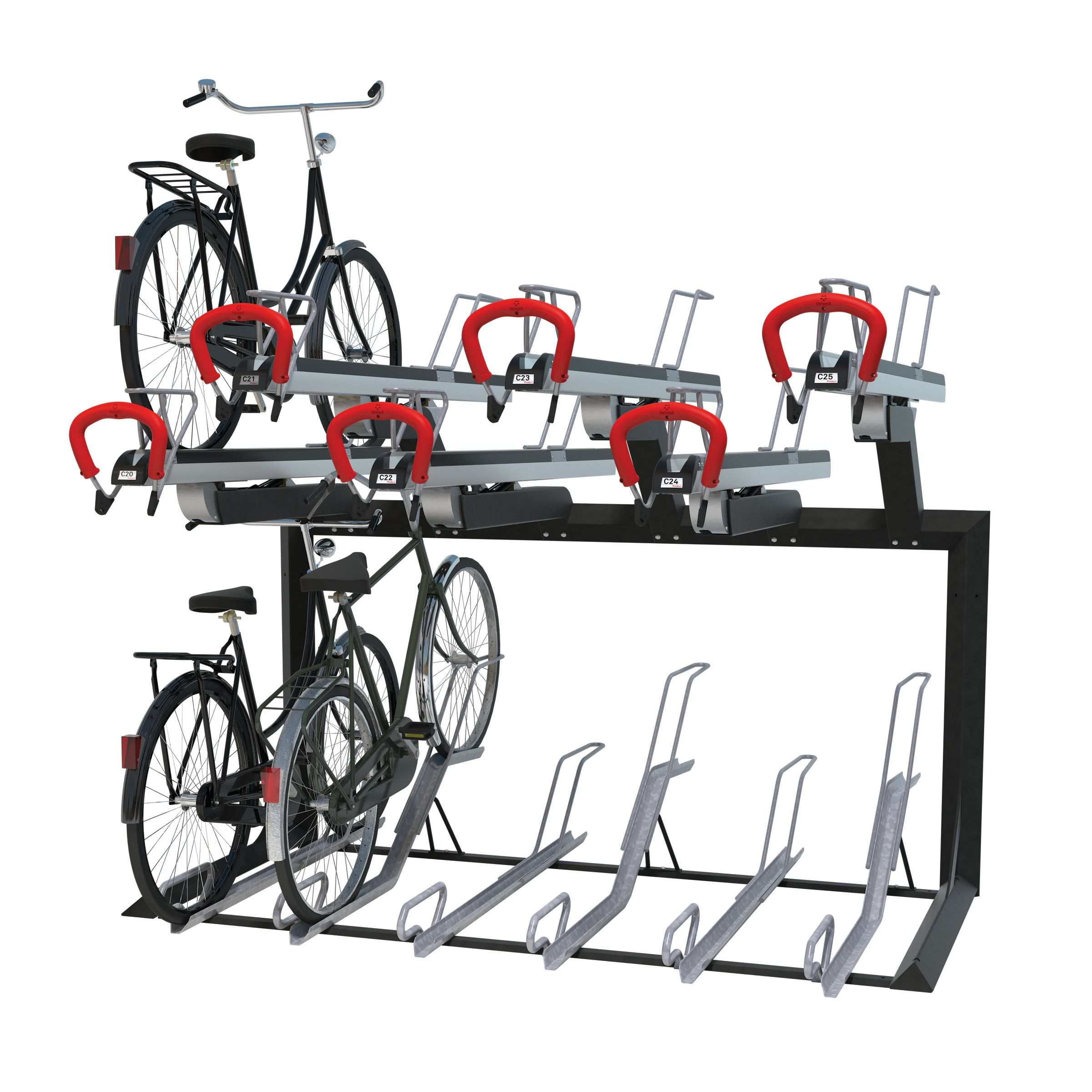 Easylift+ Bicycle Parking System