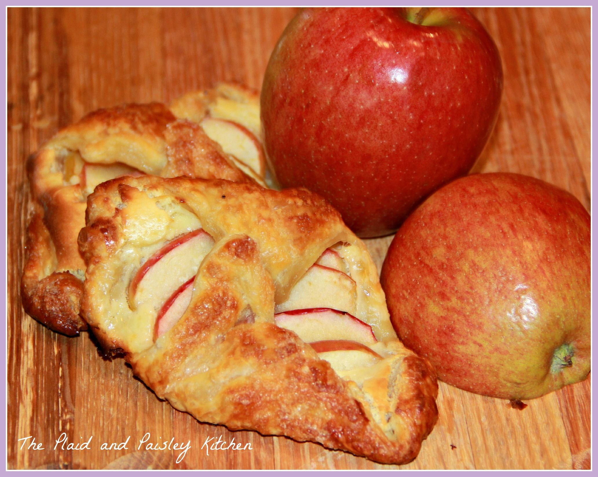 Apple Cheese Danish {from The Plaid and Paisley Kitchen}