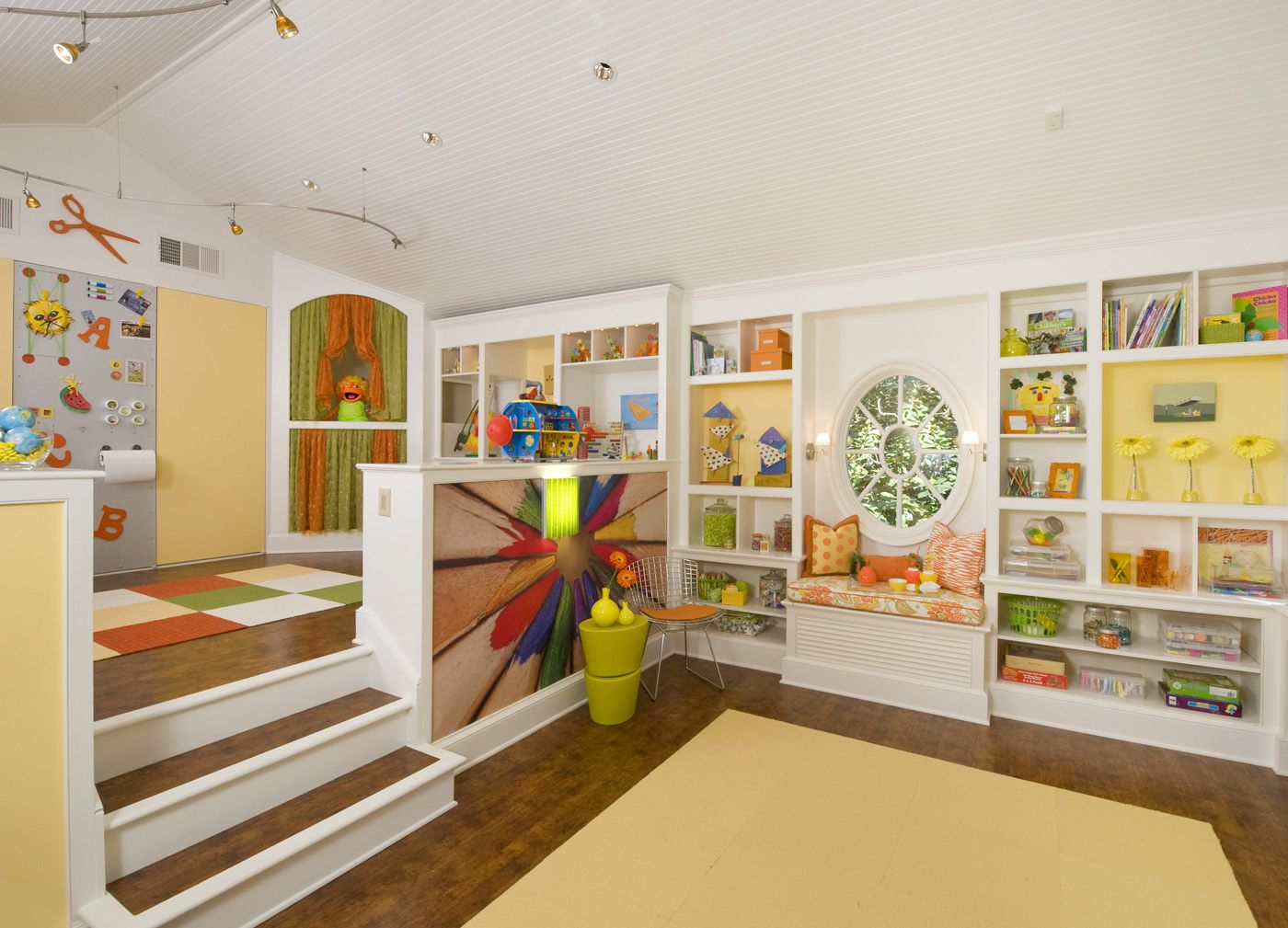 Elegant 40 Kids Playroom Design Ideas That Usher In Colorful Joy Photo Gallery
