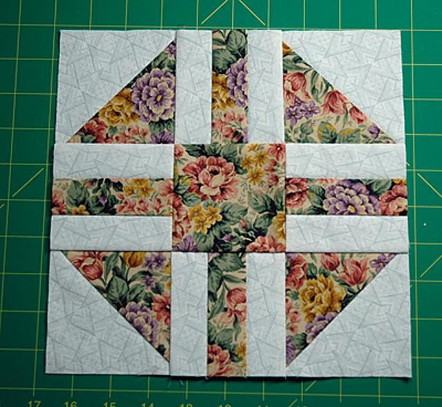 Paths and Stiles Is an Easy Patchwork Quilt Block | Patchwork ... : 9 inch quilt block patterns - Adamdwight.com