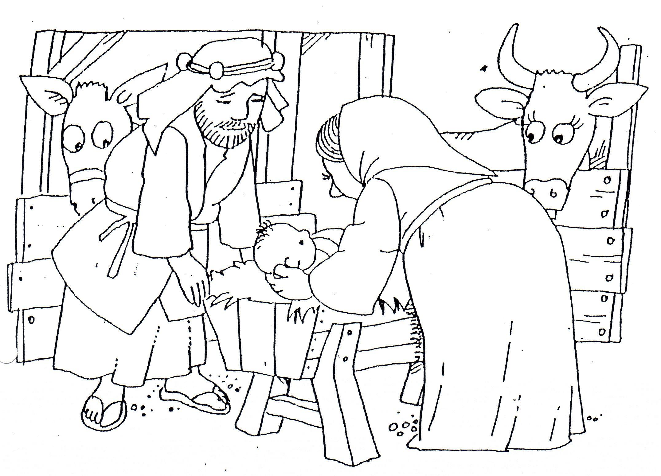 jozef stal kleurplaat zoeken kerst