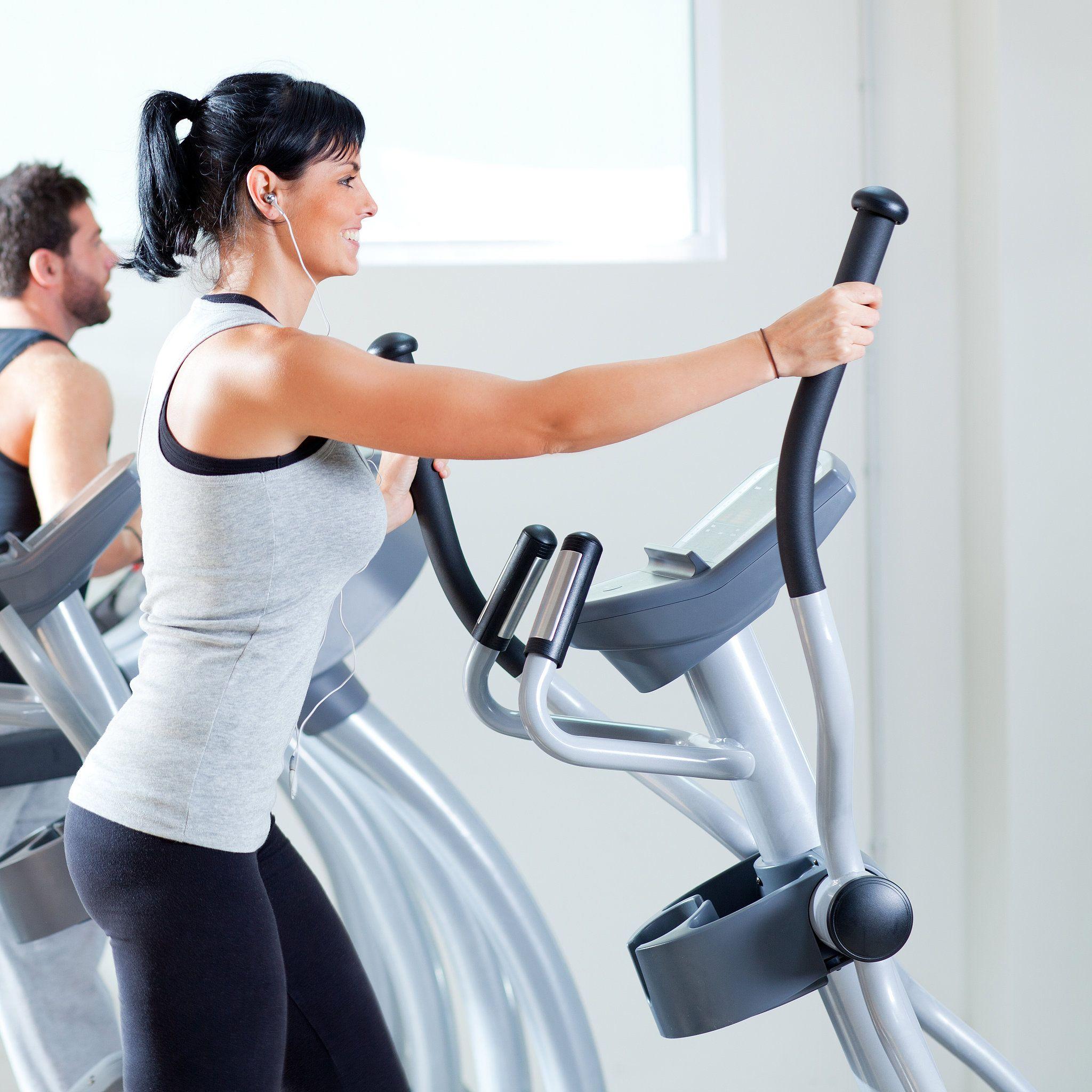 Butt toning elliptical workout