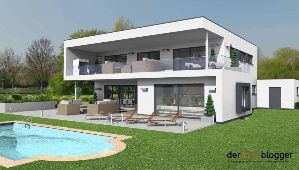 Flachdachhaus 245m² Flachdachhaus, Haus und Haus planung