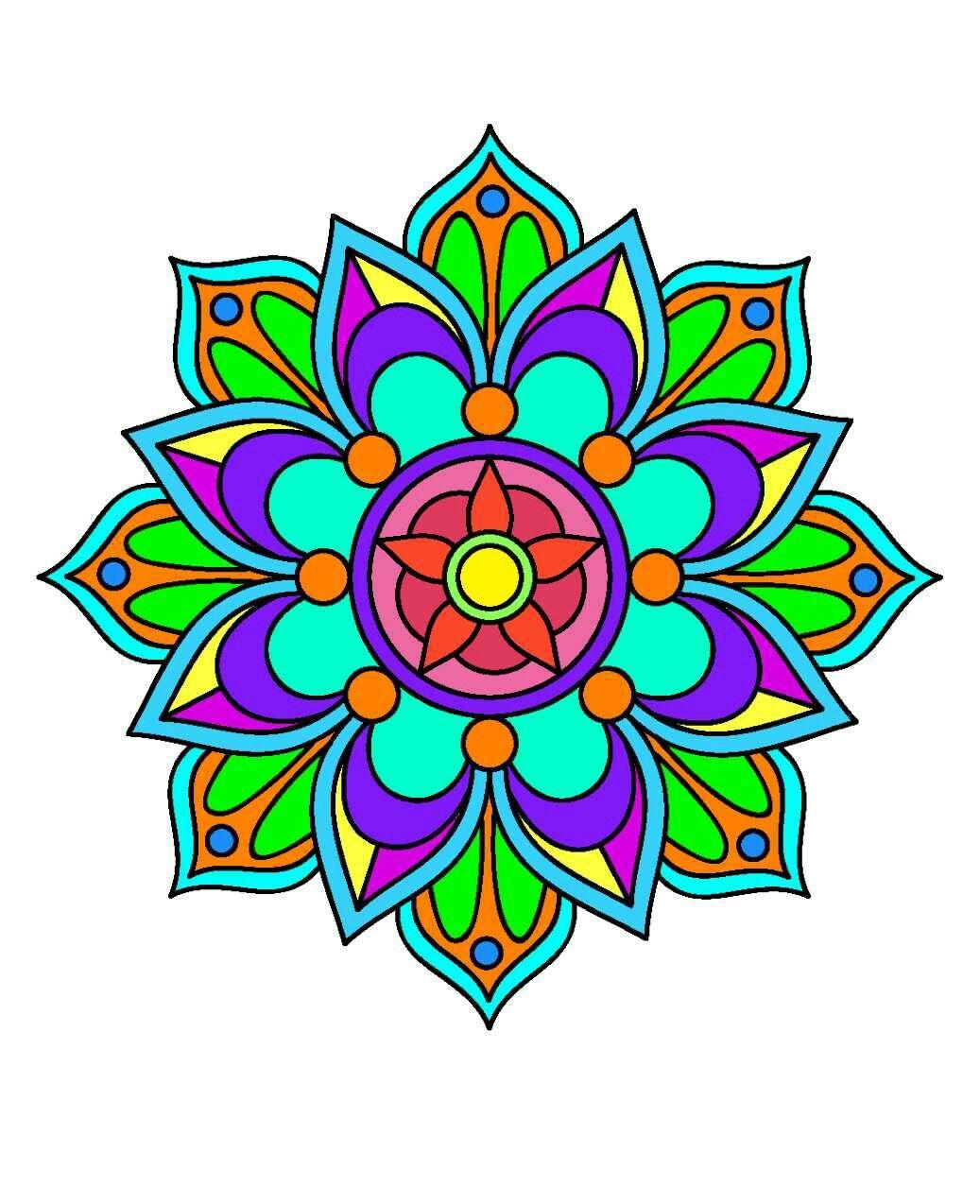 Mandala 02   patrones para bordar   Pinterest   Mandalas, Piedras y ...