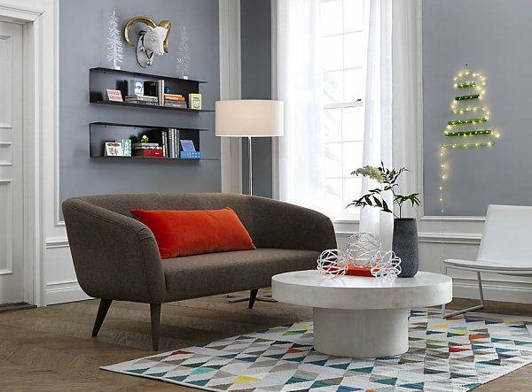 wohnideen für wohnzimmer teppich teppichboden muster geometrisch - wohnideen fürs wohnzimmer
