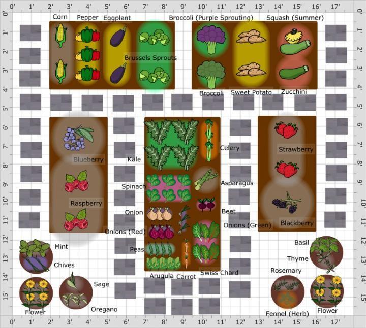 Vegetable Garden Planner For Pc And Mac Grun Vegetable Garden