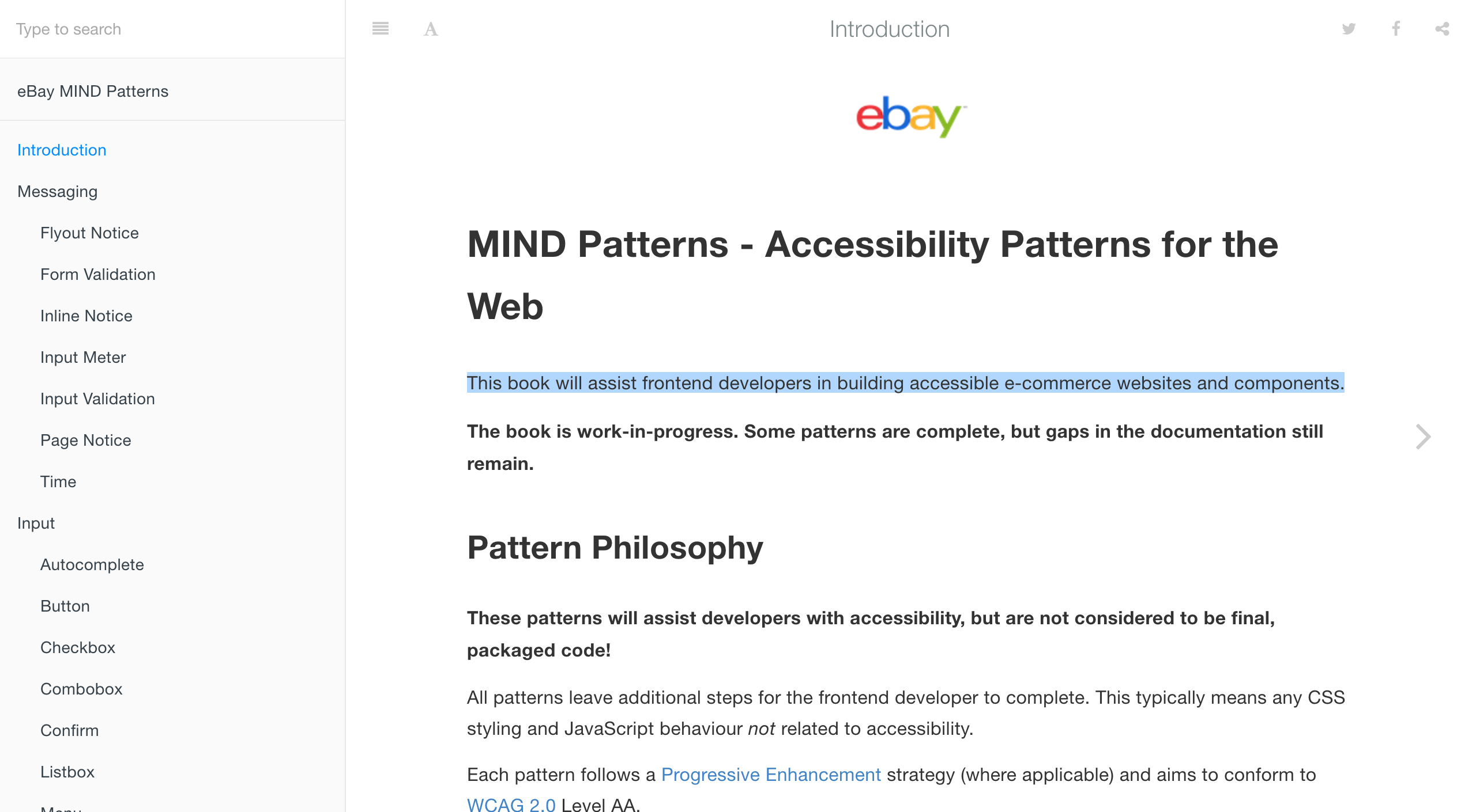Ebay Mind Patterns