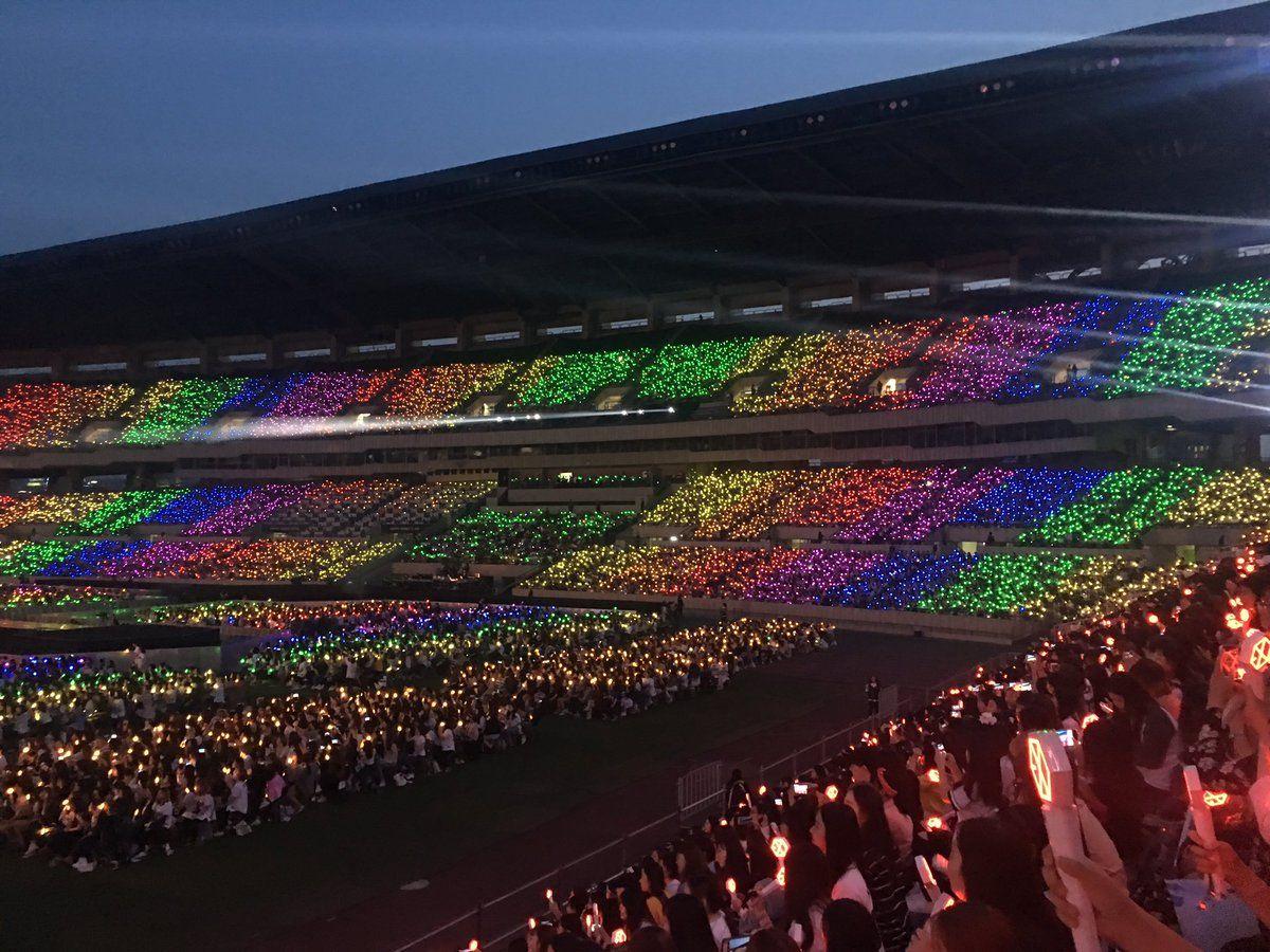 Rainbow Ocean The Exordium Dot In Jamsil Seoul In 2019