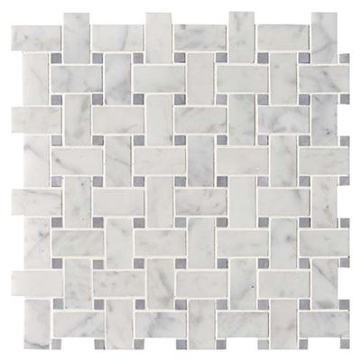 White Carrara Polished Marble Marble Systems Inc Marble Mosaic Carrara Granite Tile