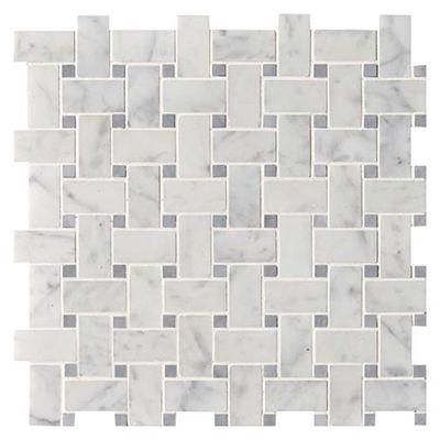 White Carrara Polished Marble Marble Systems Inc Marble Mosaic Carrara Granite Tile