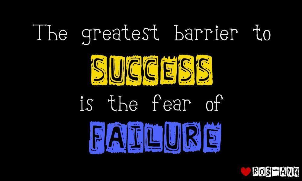 Essay on fear of failure