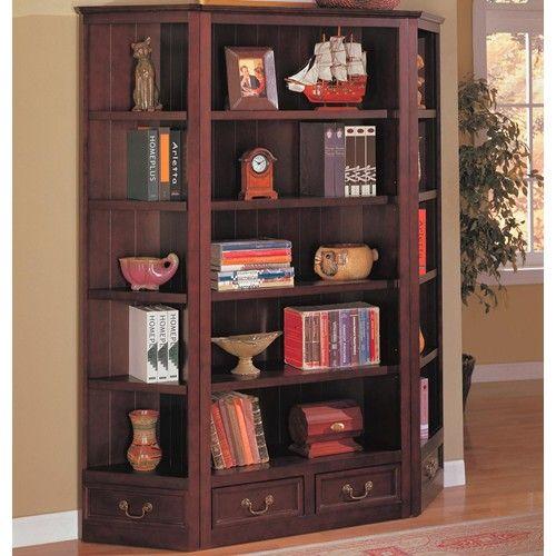 Coaster Bookcases Traditional Bookcase And Corner Fine Furniture