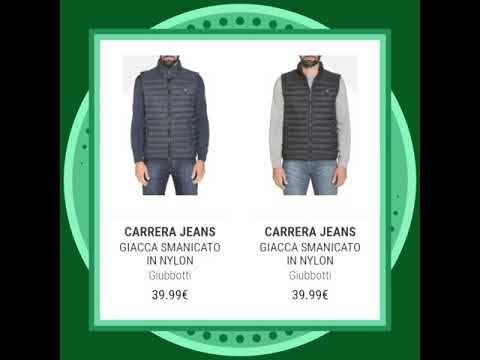 CARRERA JEANS Giubbotti Promozioni #shoppingonline #promozioni - YouTube