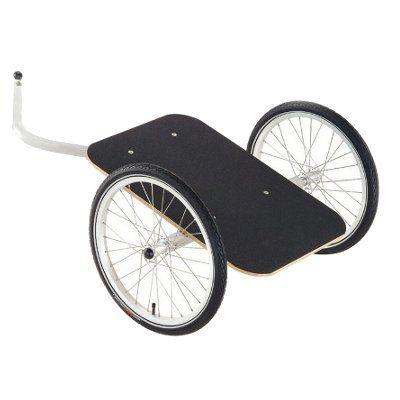 remorque pour v lo y frame carriole pinterest remorques pour v los remorque et chariot. Black Bedroom Furniture Sets. Home Design Ideas