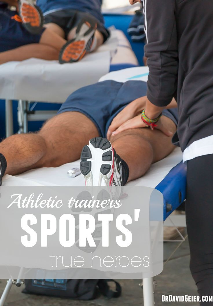Athletic trainer One of sports' true heroes (With images
