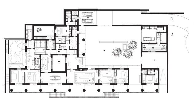 Faylandhousefloorplan floorplans sections diagrams architecture malvernweather Image collections