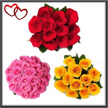 Send valentine roses, valentines day roses delivery online, buy valentine roses online