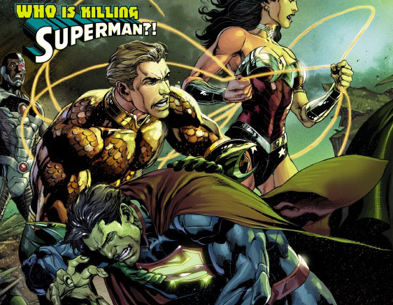 You Won\'t Believe Who Is Trying To Take Down Superman In Justice League #19