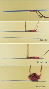 Friederike: Patchworksocken stricken - eine ausführliche Anleitung
