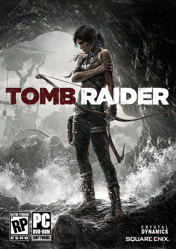 Check Out The Box Art For Tomb Raider Ign Tomb Raider Raider Ladrones De Tumbas