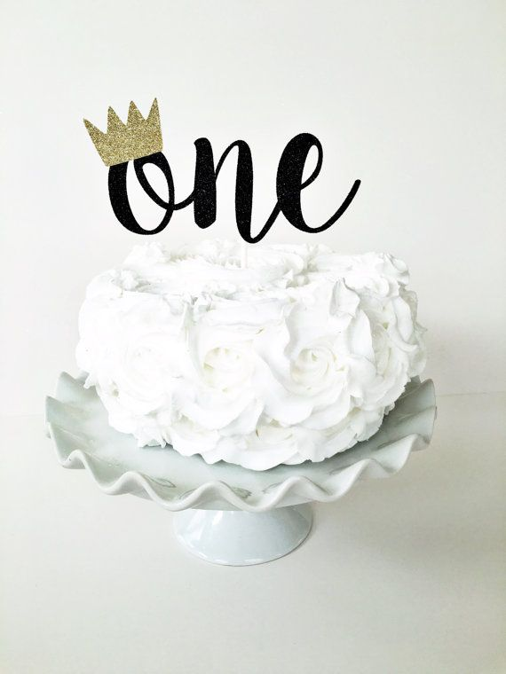 ONE Cake Topper Where The Wild Things Are First Birthday Party Theme Decor Smash Boy Dessert Table