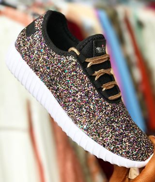 0066f97037c5 The ✨M E R M A I D✨ Glitter Bomb Sneakers are • H E R E • SHOP now before  they re G O N E! ❤  southernfriedchics  glitter  cute  love