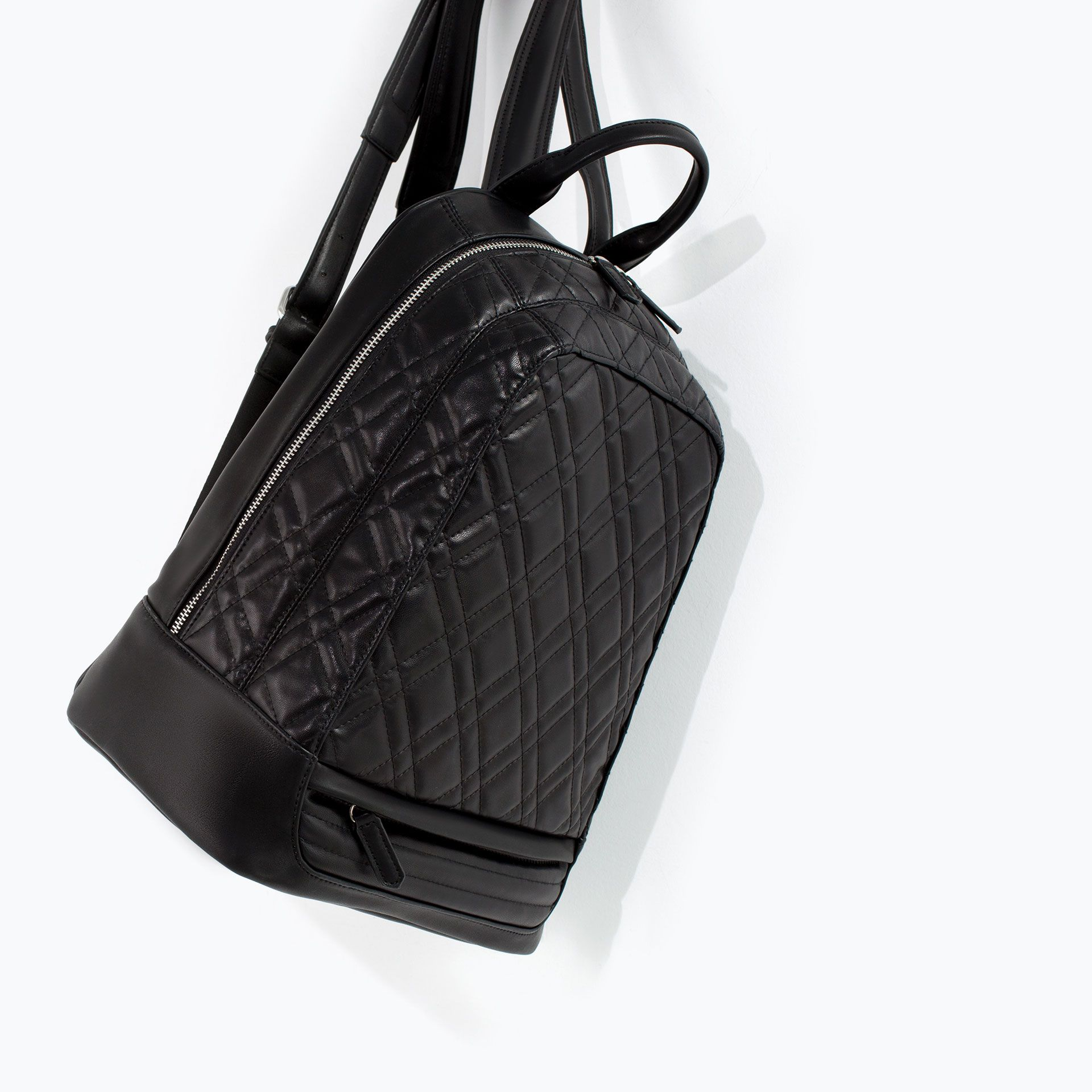 QUILTED RUCKSACK from Zara   Bags   Pinterest   Gloves, Purse and Bag : black quilted rucksack - Adamdwight.com