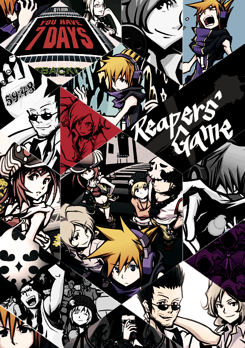 The World Ends With You Phone Wallpaper The World Ends With You