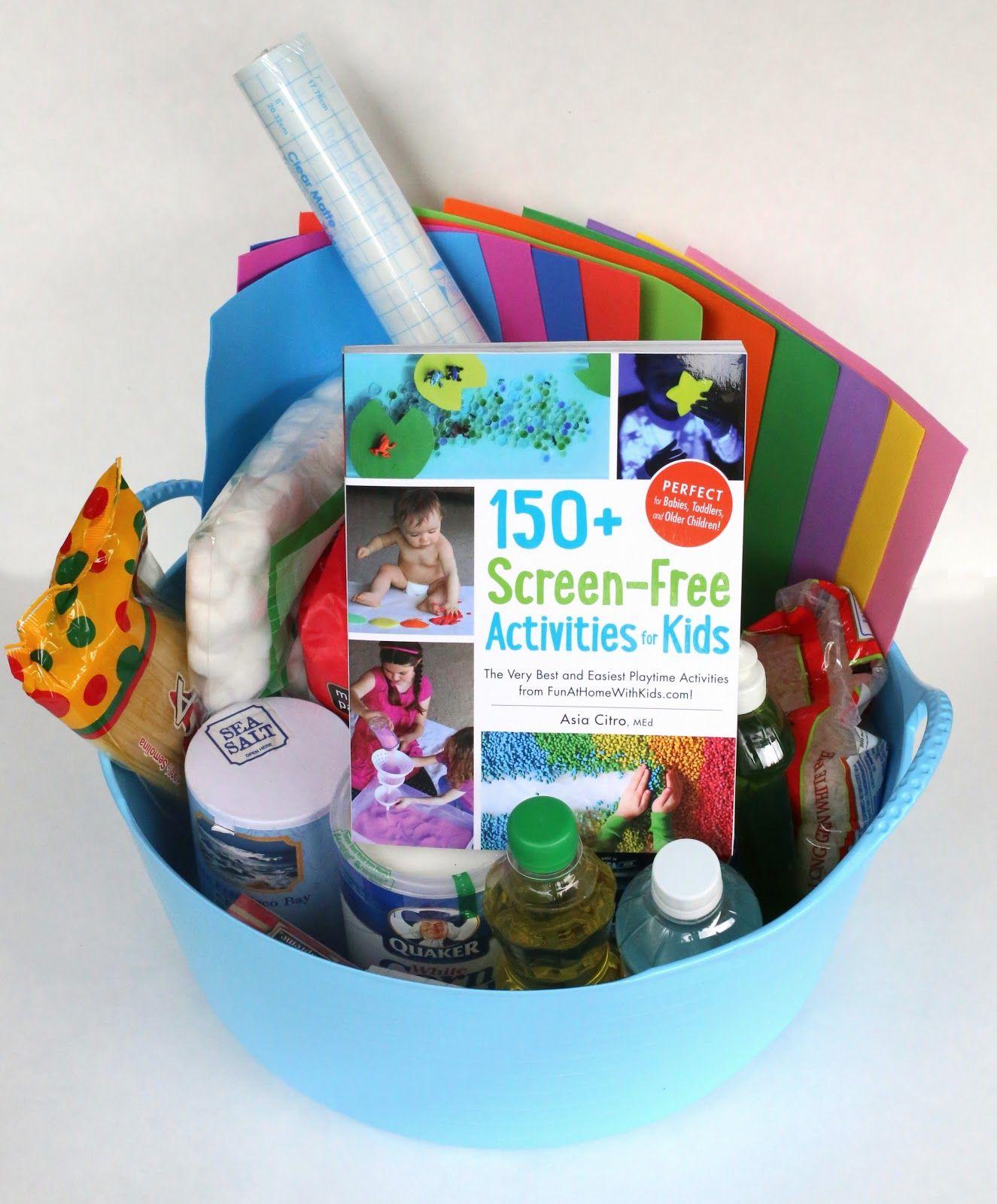 DIY Sensory Kits Creative Gifts for Kids