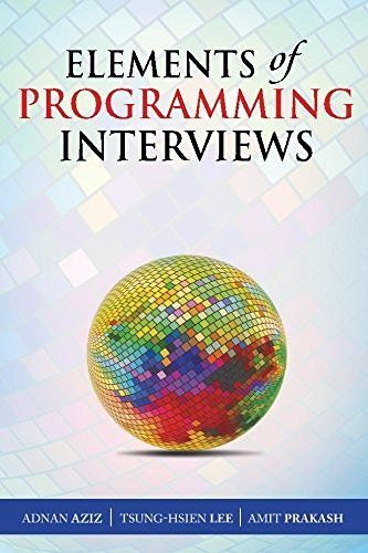 Elements of Programming Interviews: The Insiders' Guide, http://www.amazon.com/dp/1479274836/ref=cm_sw_r_pi_awdm_x_4Tg8xbW9GD4Y9