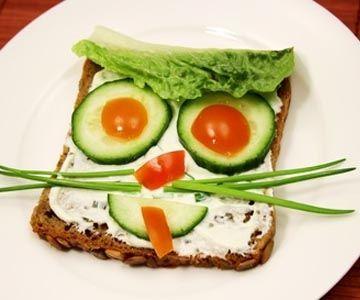 Witzig und lecker: Bunte Brote für Kinder