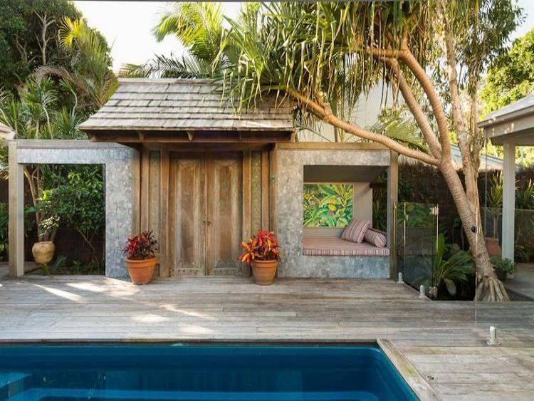 beach house backyard + pool | Urban Backyards + Outdoor ...