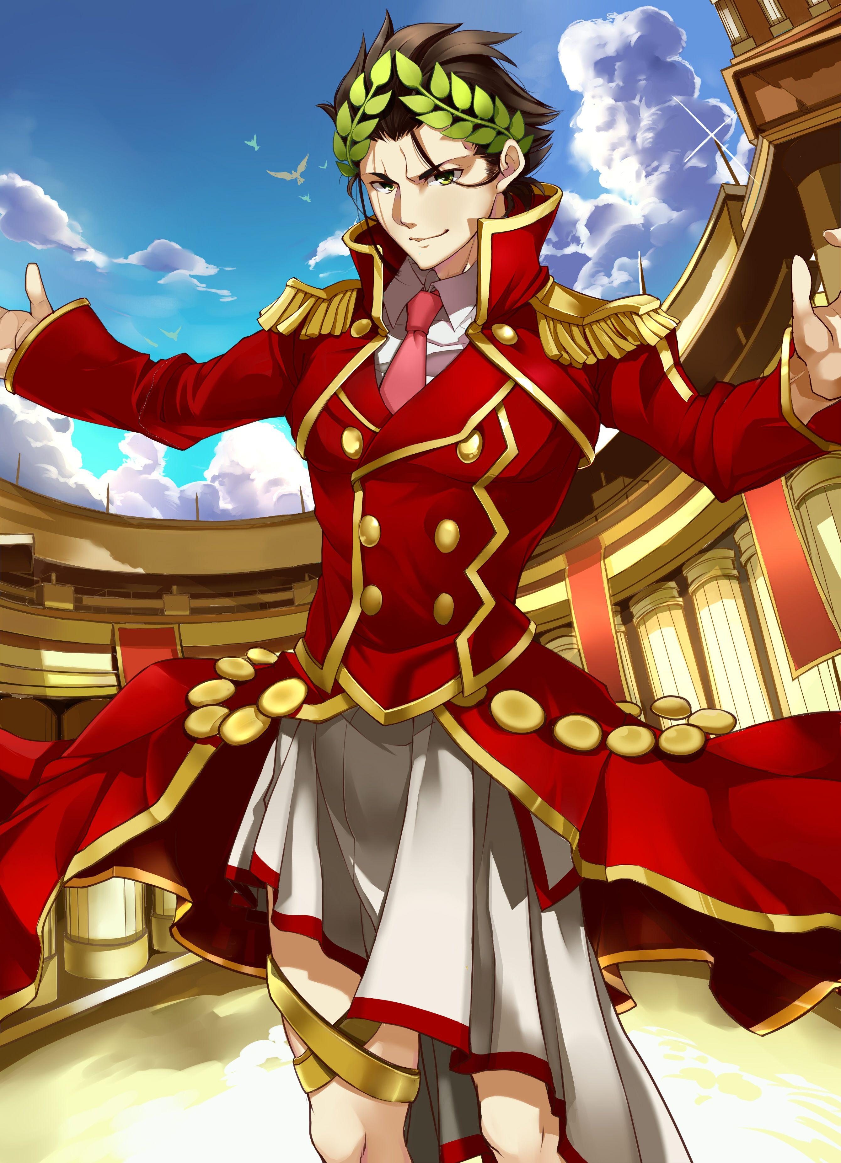 Gaius Julius Caesar【Fate/Grand Order】 | Fate anime series, Fate servants,  Julius caesar